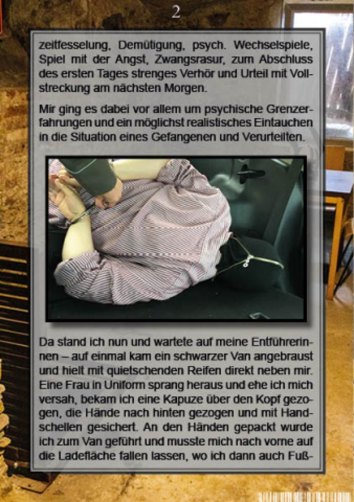 Haftbericht M-K (Deutsch/German)
